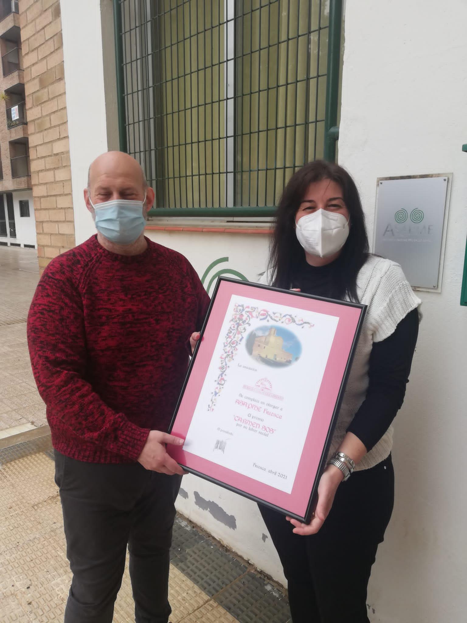Entrega del Premio Carmen Sos